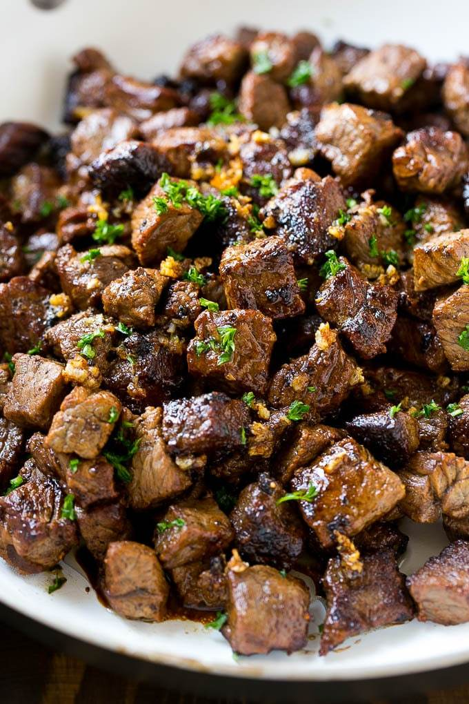 #Foodporn Alert! [HOMEMADE] Steak Bites with Garlic Butter #yummy https://t.co/cyLfPdrcqM
