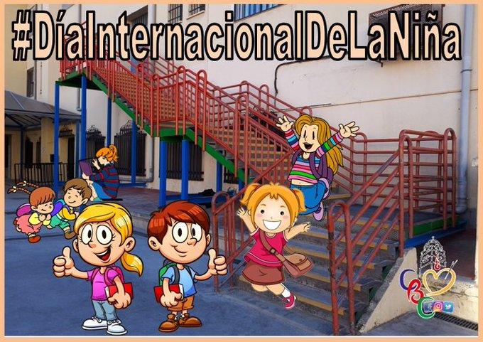 #DíaInternacionalDeLaNiña Todavía en muchos lugares del mundo nacer niña es motivo de marginación, mutilación, acoso o discriminación. Photo