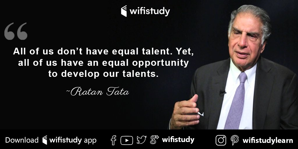 Wifistudy On Twitter All Of Us Don T Have Equal Talent Yet All