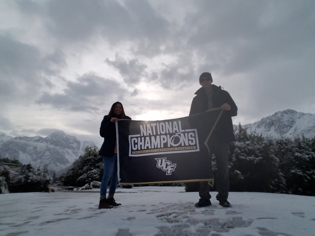 @RobMack28: Representing the champs in Mt. Cook New Zealand. #ChargeOn #knightspassport @UCF_Football https://t.co/4qi0UBkIgj