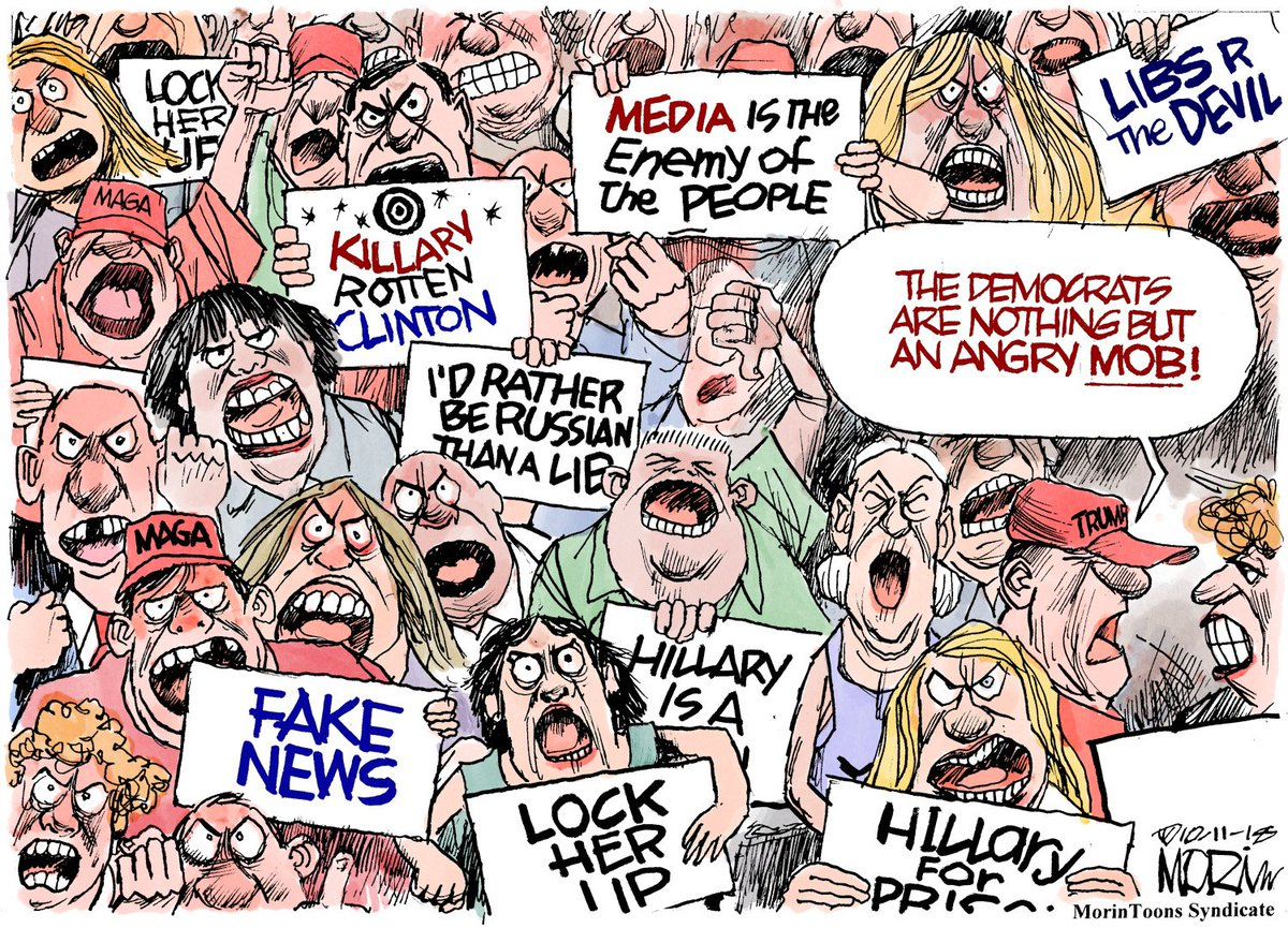 Image result for trump mob cartoons