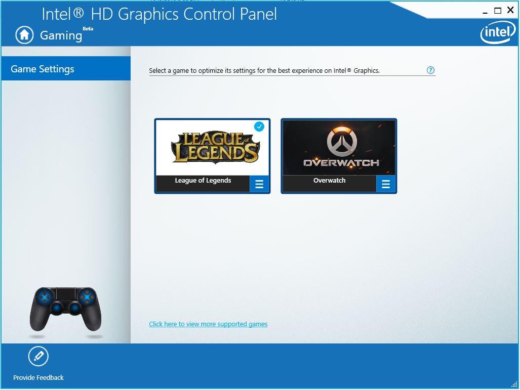 Intel Graphics Controller