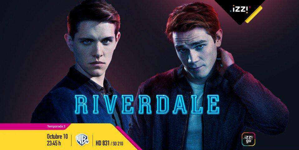 """Hay más Serpientes de las que creemos y serán reveladas. 🐍 """"Riverdale"""" estrena su temporada 3. Los secretos no paran en este pueblo. Disfrútala por @WarnerChannelLA. https://t.co/jL8uTQxZlf"""