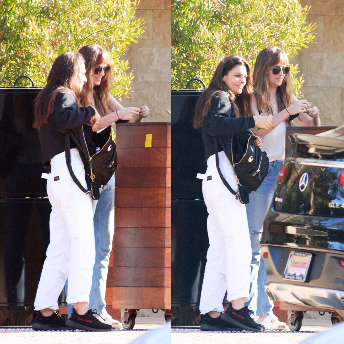 October 10th, Dakota out for lunch with a friend.  #DakotaJohnson   // PicturePub <br>http://pic.twitter.com/bdaZOvoAte