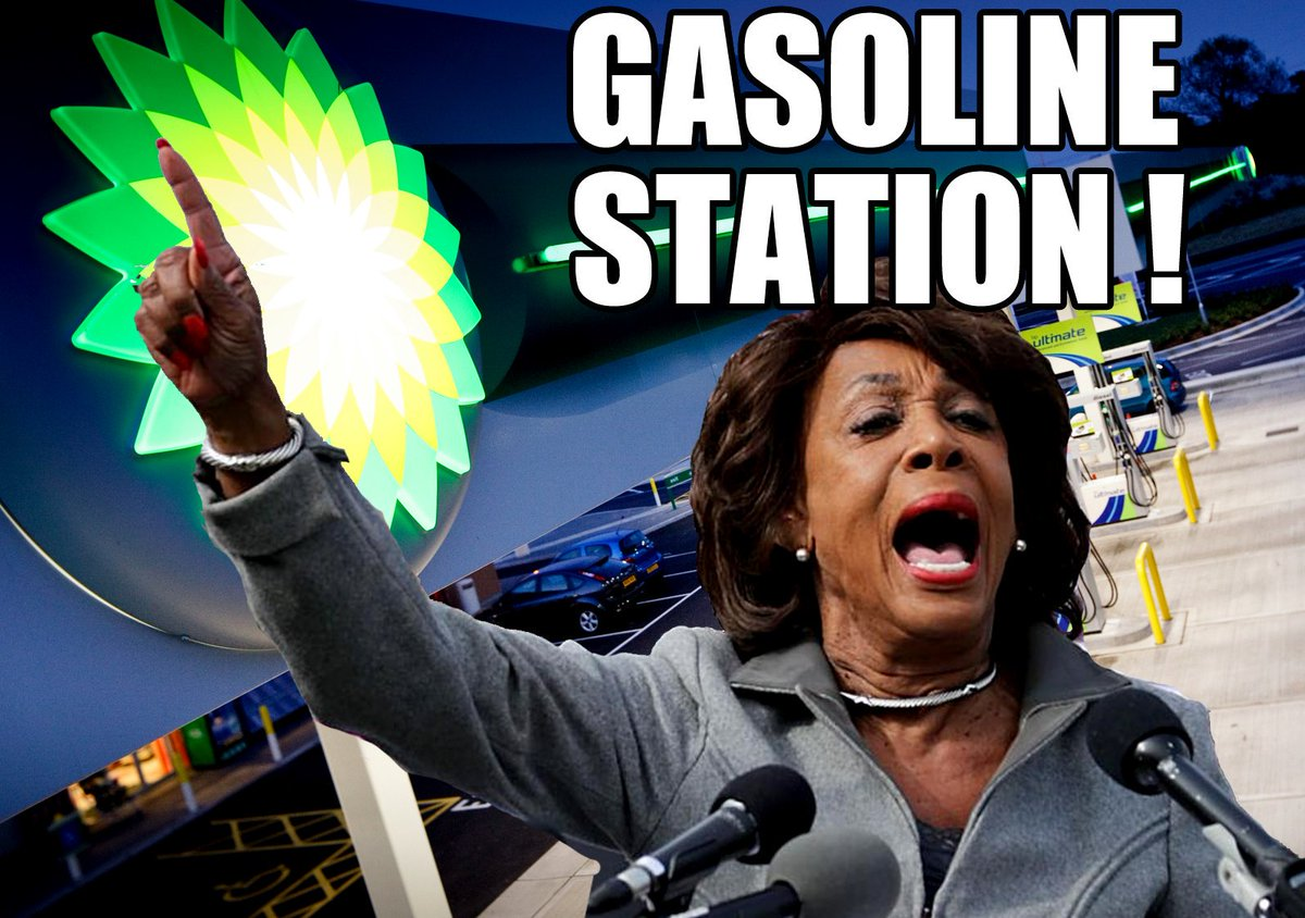 Be careful at the Gasoline Station. @RepMaxineWaters Maxine Waters may be waiting for you there.  #GasolineStation #MaxineWaters #Mob #MobMentality #AngryMob #Democrats #AngryDemocratMob #BP #Shell #Sunoco #Marathon #CircleK #Citgo #Mobil #Pilot <br>http://pic.twitter.com/I14THnCGIW