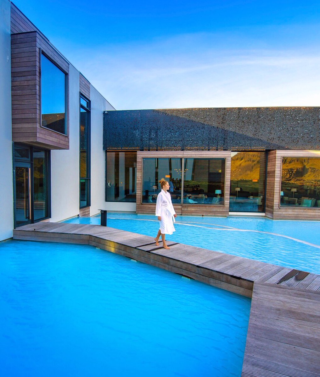 The amazing Retreat Hotel! Ultimate #luxury at @BlueLagoonIS in #Iceland! Would you stay here???