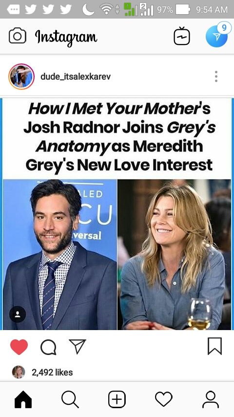 JOSH RADNOR WILL BE ON GREYS ANATOMY?!?!!?!?!? AS MEREDITHS NEW LOVE INTEREST?!?!?!!? SHUT THE FUCK UP IM EXCITED <br>http://pic.twitter.com/XLl0lgsDVj