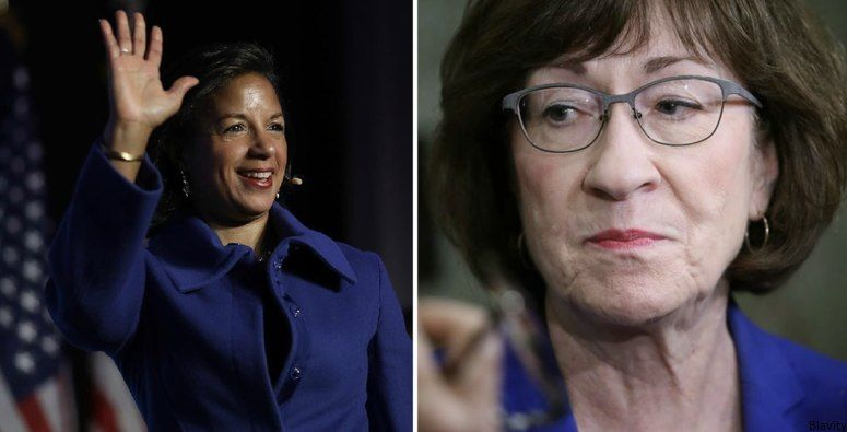 Welp  @SenatorCollins voted in favor of Kavanaugh. So, Susan Rice (@AmbassadorRice) said she would run for Senate to take her seat  and we&#39;re here for it. #Maine2020 #StopKavanaugh  http:// bit.ly/2NzDaMA  &nbsp;  <br>http://pic.twitter.com/XefsFWJ20B