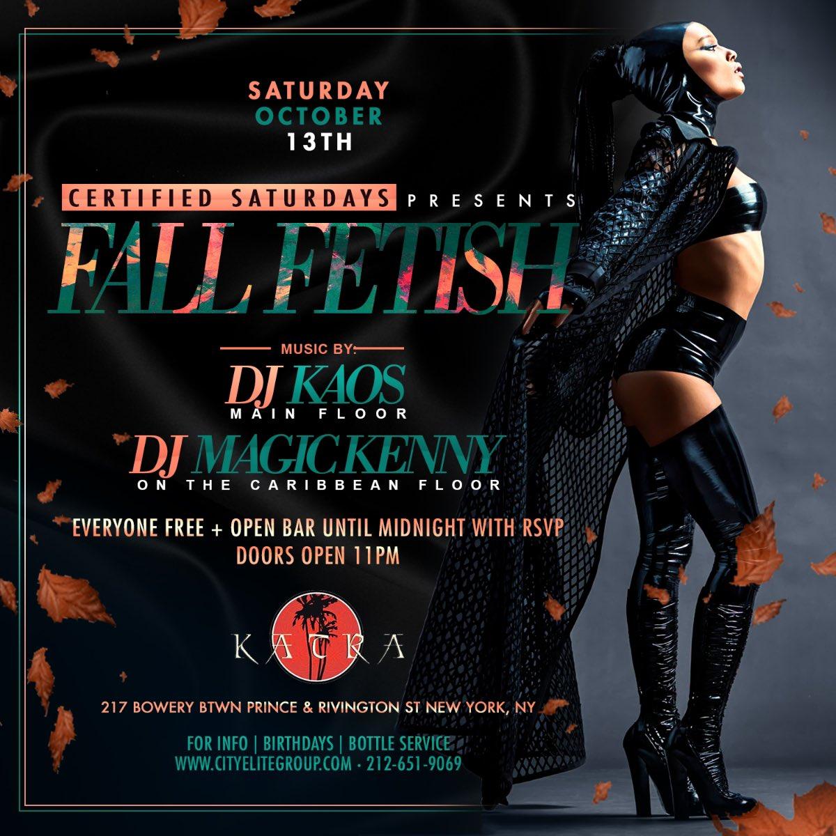 #CertifiedSaturdays @Katralounge With @DJKAOSNYC1 And @djmagickenny  #LadiesNight #Number1SaturdayParty In The City @pquilter1972 @NiteTables  @nyccompton ...