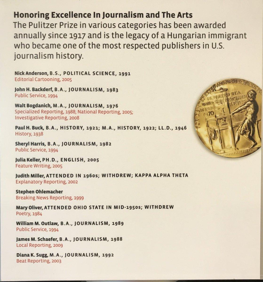 J Box Steffensmeier On Twitter Pulitzer Prize Osupolisci