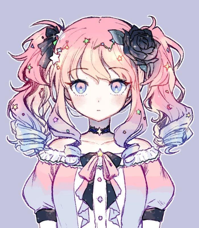 "Violett On Twitter: ""Pastel Princess 🌸🌙 #kawaii #aesthetic"