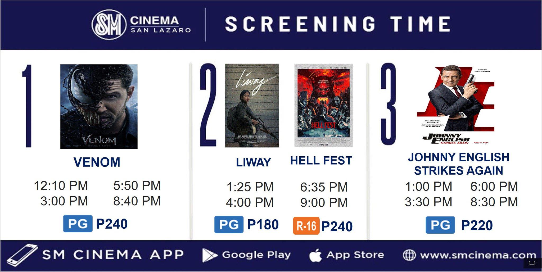 Sm city san lazaro cinema schedule