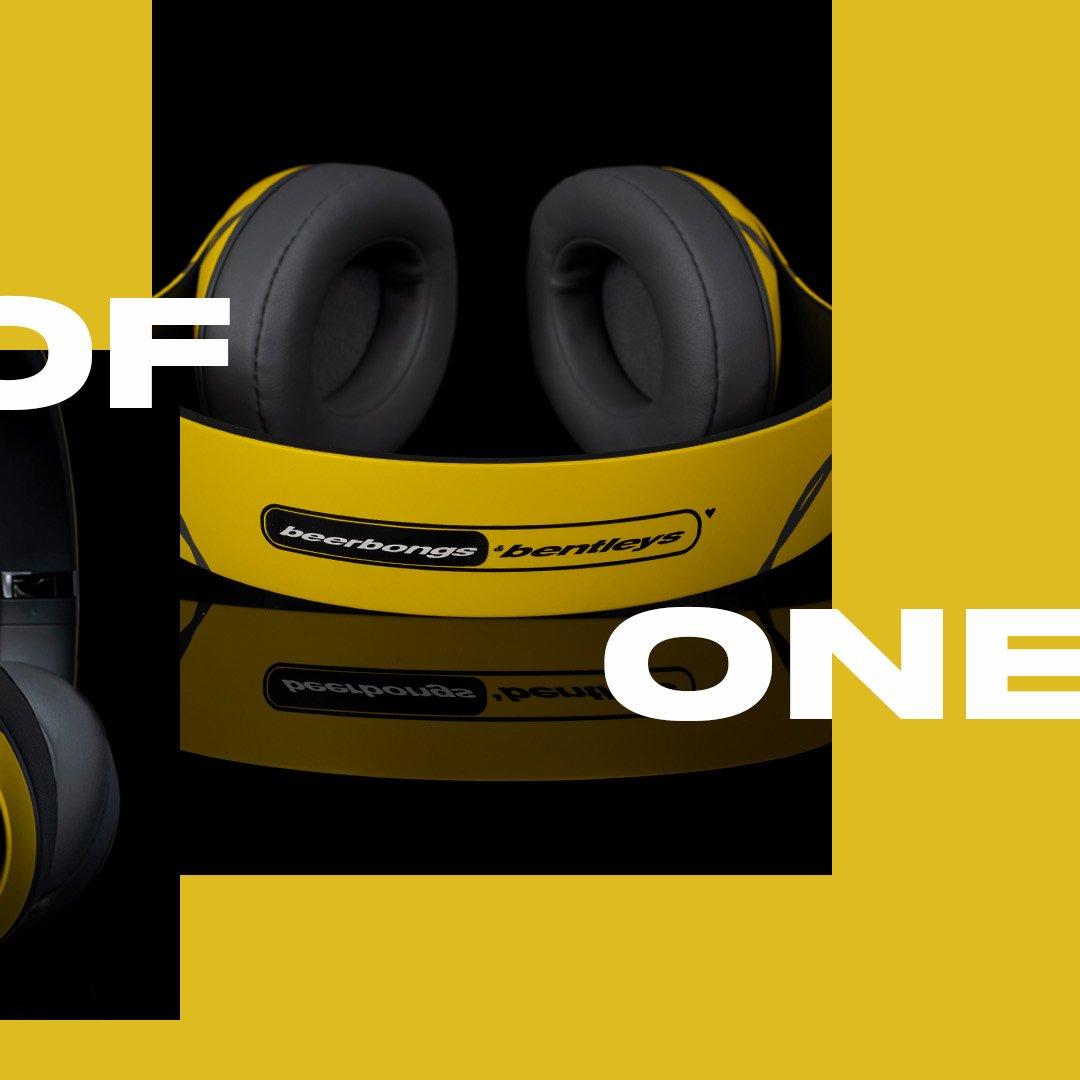 """beatsdre on twitter: """".@postmalone's #1of1 design showcases his"""