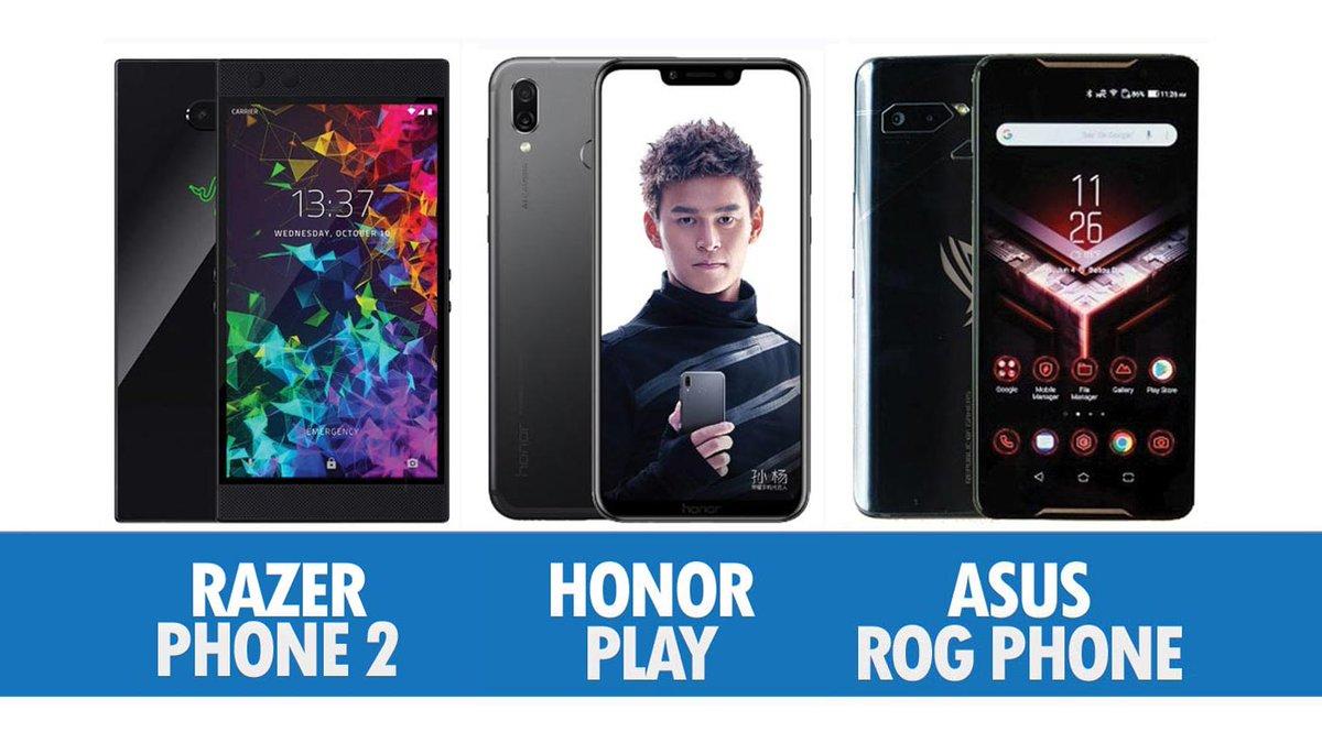 Perbandingan Razer Phone 2, Honor Play Dan Asus ROG Phone  http:// amanz.my/2018181974/  &nbsp;  <br>http://pic.twitter.com/m712nOkgY0