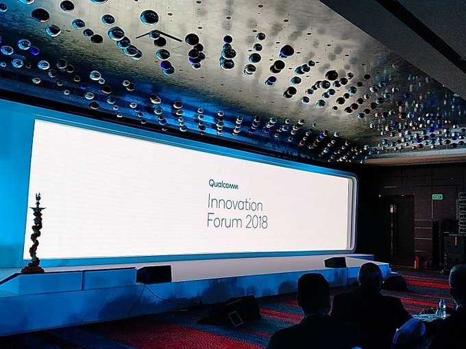 Taking the country higher on the innovation ladder, Join us as @qualcomm_in and its partners share, showcase and celebrate innovative concepts today. #QInnovationForum Photo