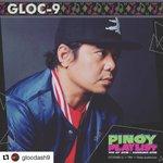 Image for the Tweet beginning: Ngayong gabi! #PinoyPlaylist #Gloc9