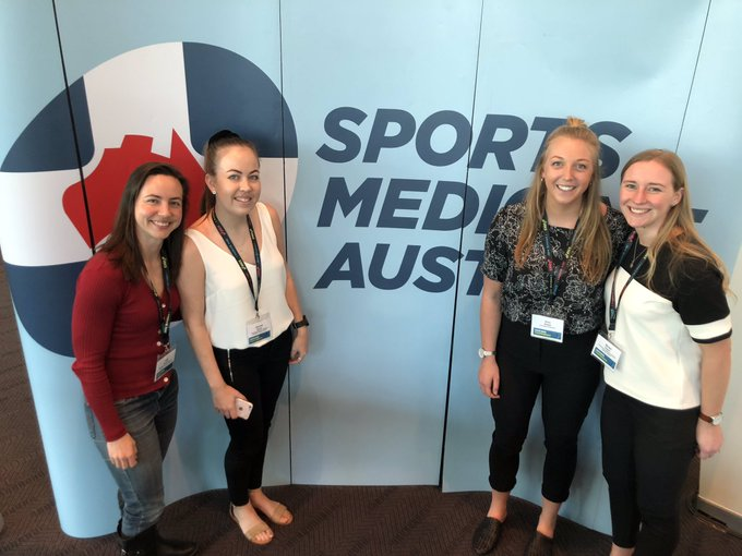 Great day at @SMA_NEWS Conference in Perth presenting the results from PhD Study 1! Well done to all of today's presenters! 🤓🤩#SMACONF18 Photo