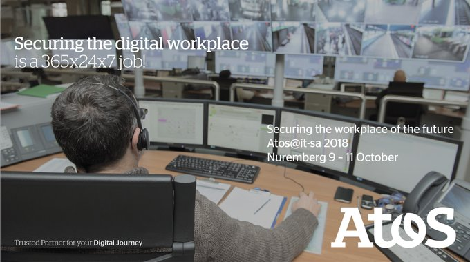 Come see us at @itsa_Messe and find out more about the secure #DigitalWorkplace of...