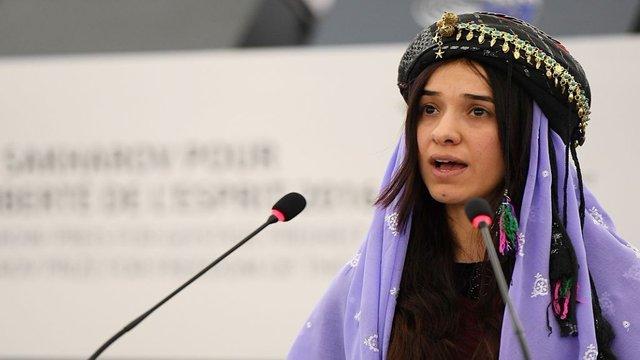 Nobel Peace Prize recipient to donate entire $500,000 prize to sex crime victims hill.cm/JR2cJI7