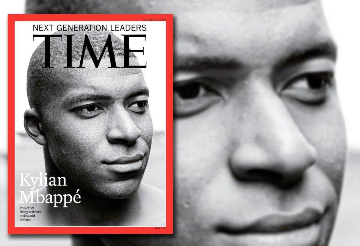 """#Mbappé, """"le futur du #football"""" en une de Time  https:// www.courrierinternational.com/une/mbappe-le-futur-du-football-en-une-de-time?utm_medium=Social&utm_source=Twitter&Echobox=1539248601  - FestivalFocus"""