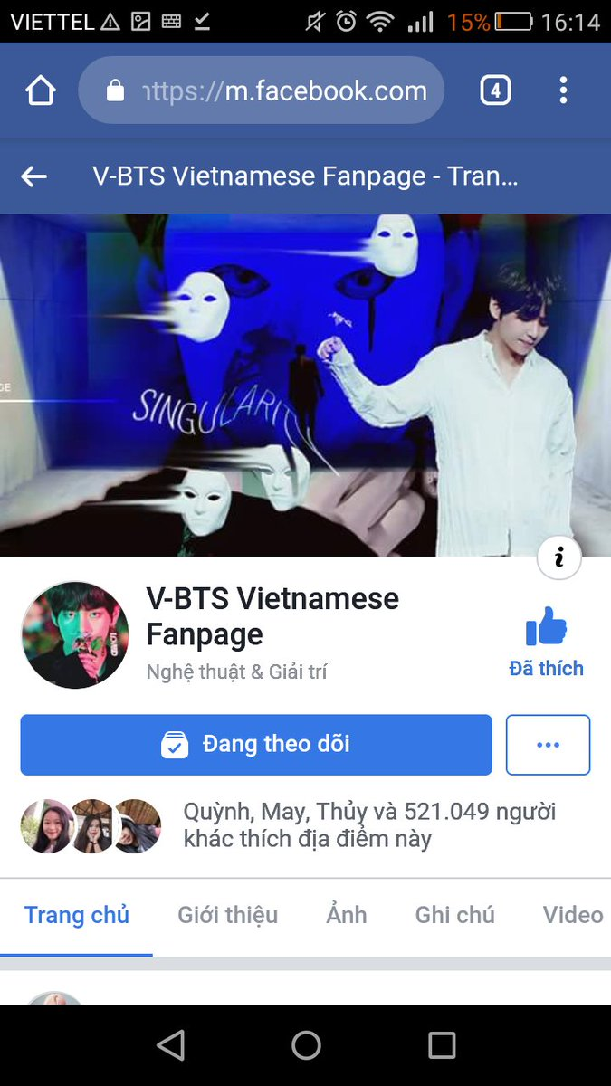 fanpage vietnam bts on JumPic com