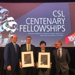 """The #CSLFellows are a group of exceptionally bright young Australians, each with decades of research ahead of them, and who will become some of Australia's pre-eminent scientists."" @MonashUni @TheDohertyInst @MCRI_for_kids @cwonglab @DanielPellicci"