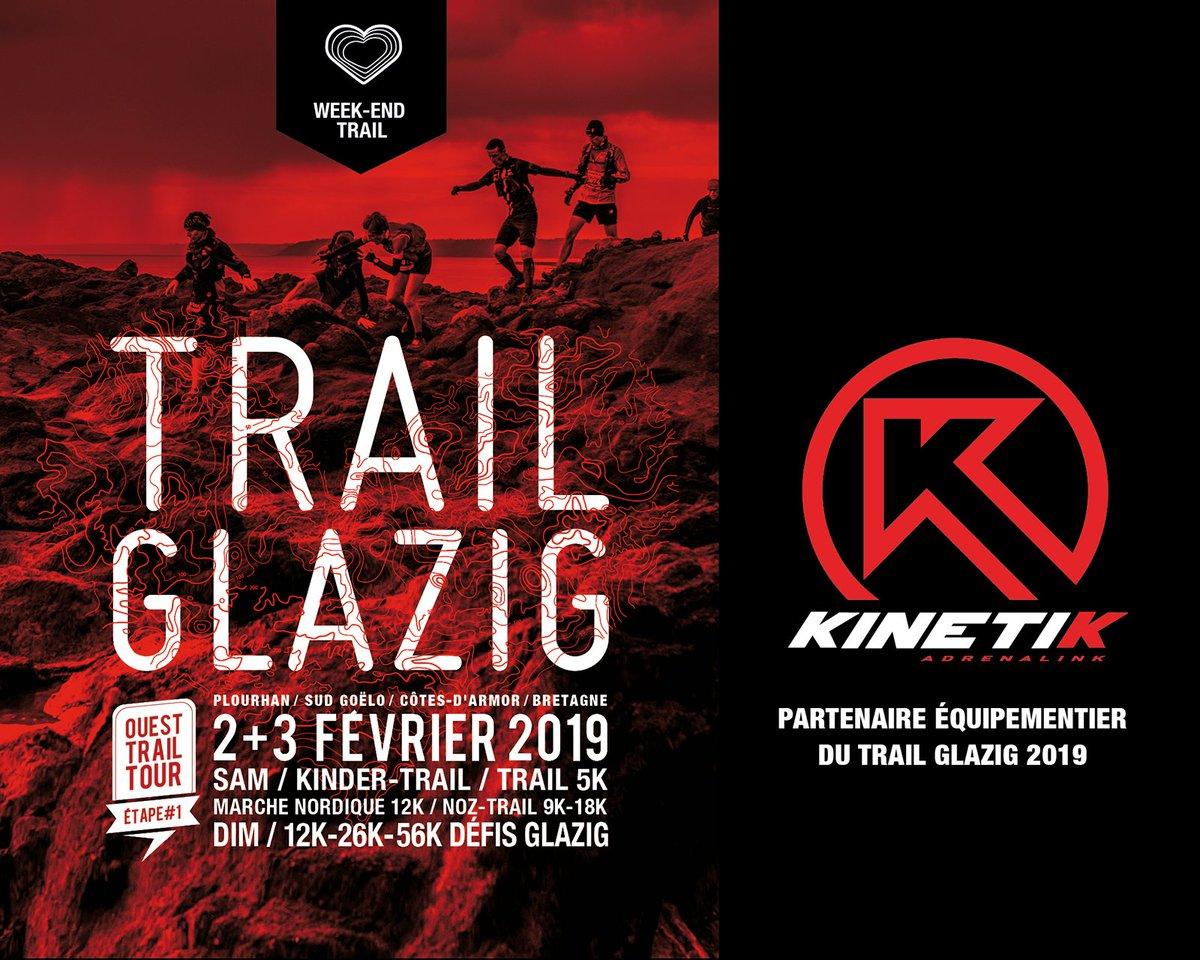 Depuis 2018 @SportKinetik est le partenaire équipementier officiel du Trail Glazig. Pour célébrer cette deuxième année de partenariat, nous proposerons une marche nordique samedi 2 février à 15h ! Plus d'infos sur Kinetik : https://t.co/myX6UUYXVU