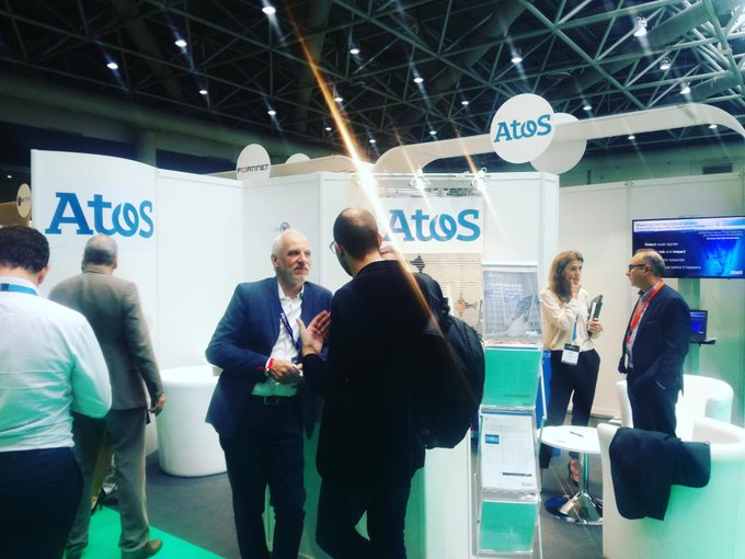 We're on booth #130 at Les #AssisesSI tradeshow - come and meet Atos...