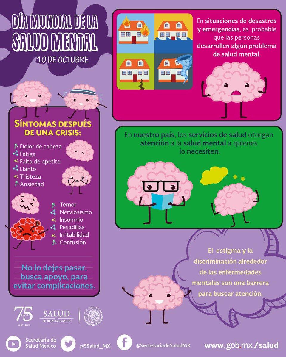 SALUD México's photo on día mundial de la salud mental
