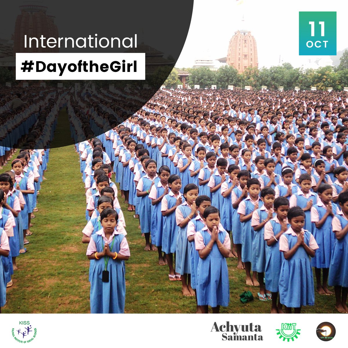#KISS is proud to support #DayoftheGirl today. Girls Progress = Nations Progress. 1.1 billion girls. 1 🌍 Unlimited dreams. Girls, you can do anything!