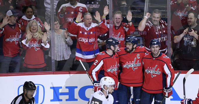 Kuznetsov's 4-point night helps Capitals beat Golden Knights #Capitals Photo