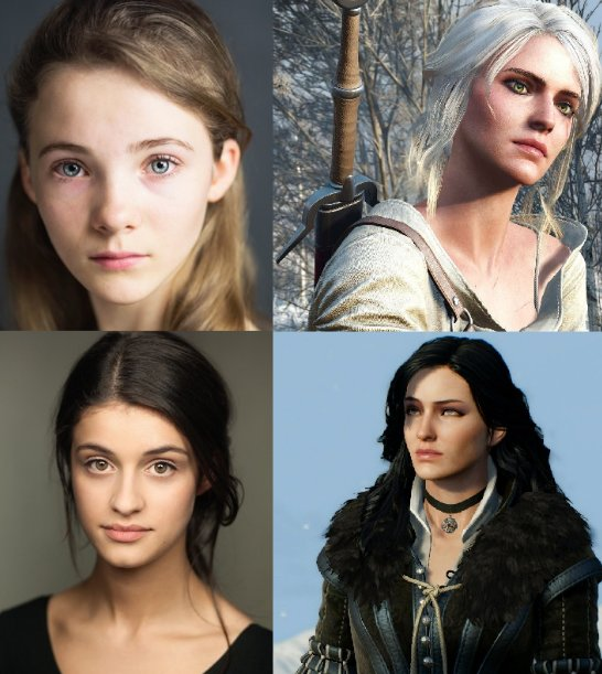 Freya Allan (Ciri) and Anya Chalotra (Yennefer) will be joining Henry Cavil (Geralt) in the upcoming Netflix&#39;s Witcher Series #TheWitcher #TheWitcherNetflix   Source: The Hollywood Reporter<br>http://pic.twitter.com/NmOCntC0Kp