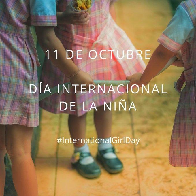Como decía Nelson Mandela, La #educación es el arma más poderosa para cambiar el mundo. 11 de octubre #DíaInternacionaldelaNiña ¿te sumas? Photo
