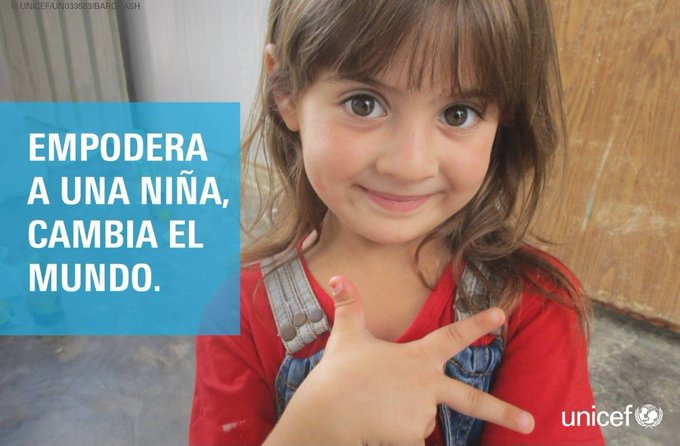 #DíaInternacionalDeLaNiña Photo
