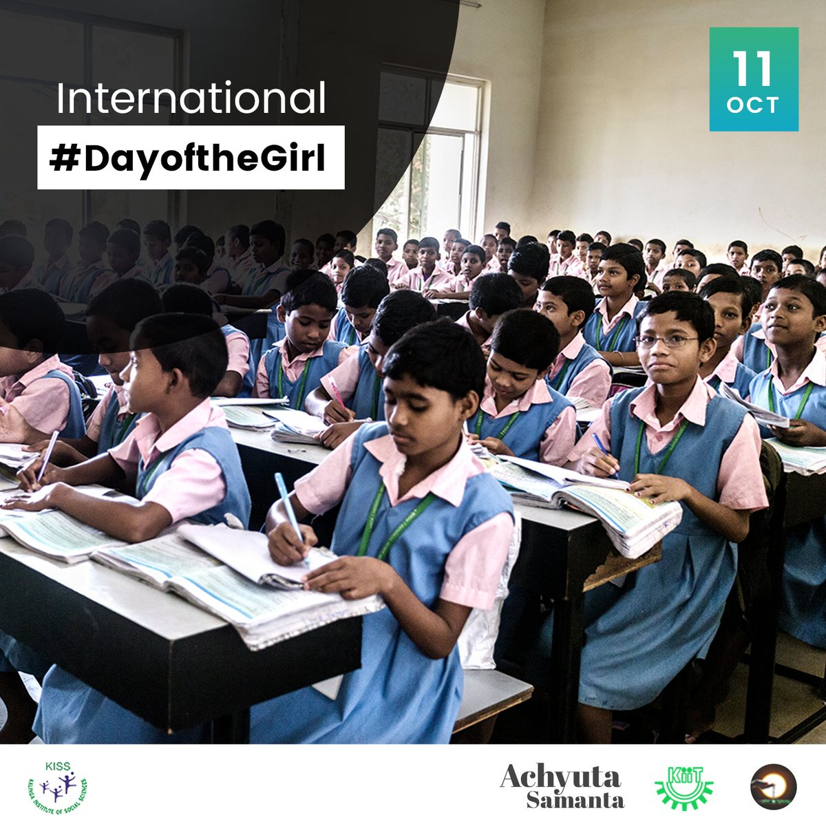 Happy International #DayOfTheGirl Today, we wish for every girl in the world, the right to inclusive, quality education because Education Empowers like nothing else. Investing in girls education empowers them to build better lives for themselves, their families, and the world.