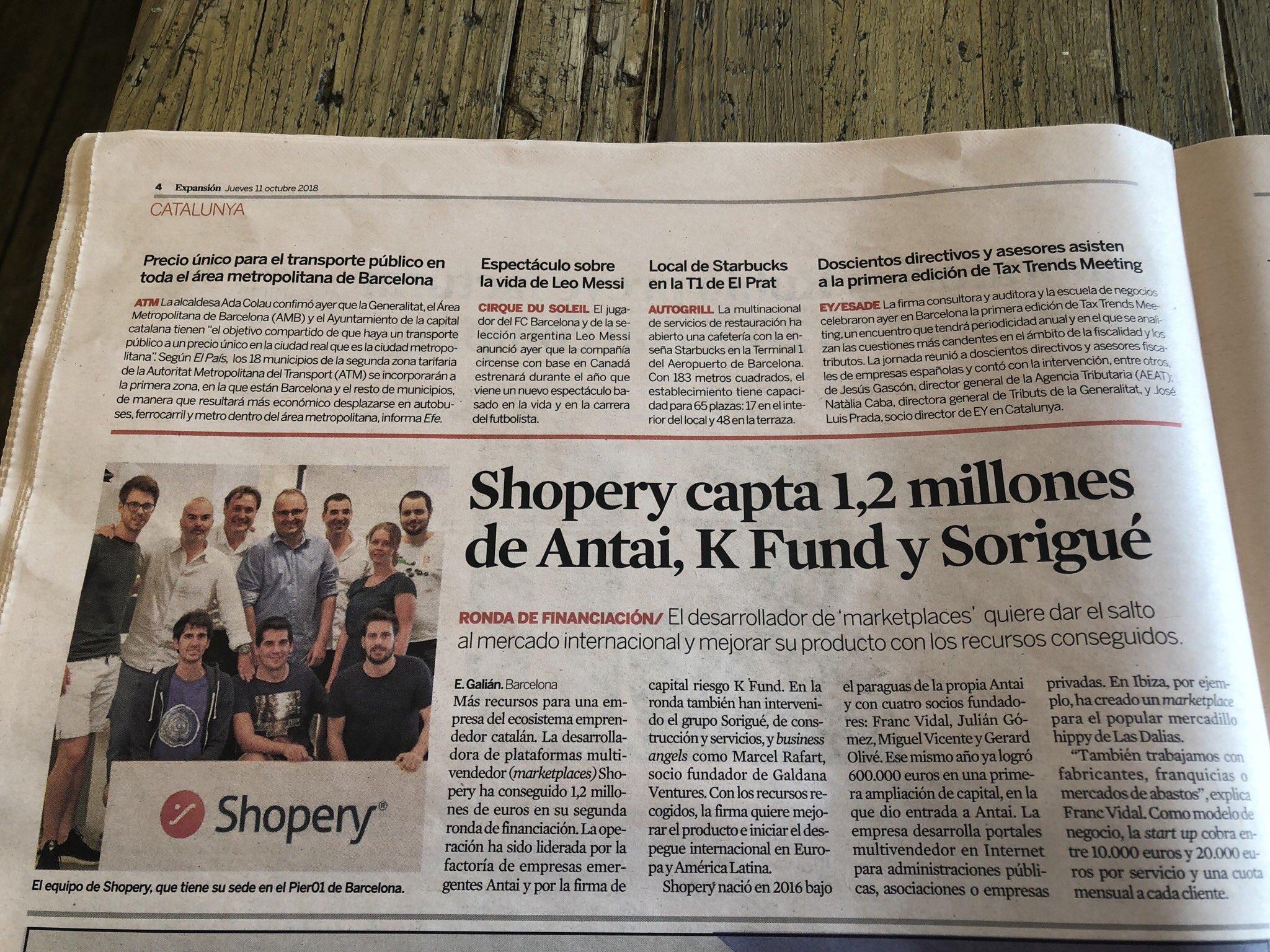 Sergio Balcells On Twitter Congrats Shopery Es Kfundvc