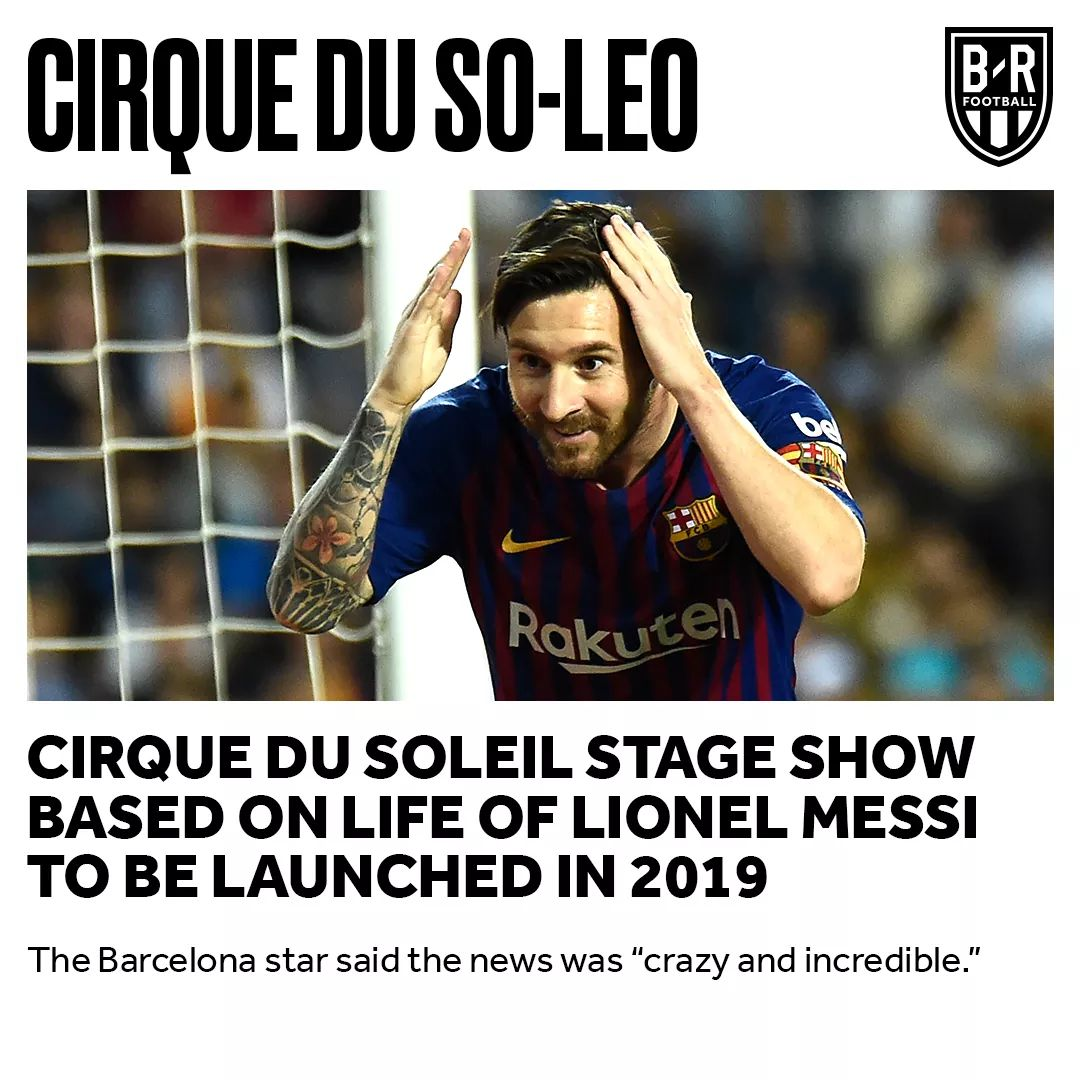 Quotes On Messi On Twitter At Bleacherreport A Show About The
