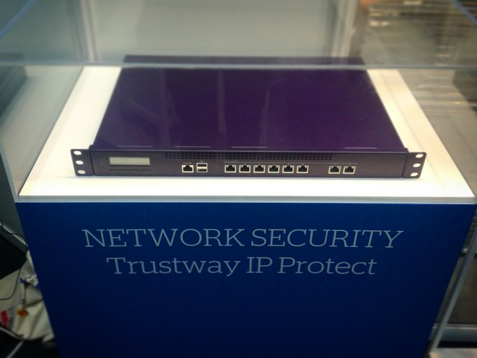 Discover our new range of IP network #encryption solutions, #Trustway IP Protect - today at...