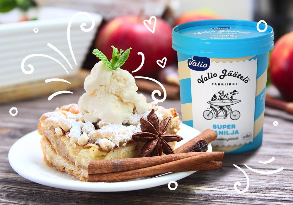 """Новое финское безлактозное мороженое Valio """"Суперваниль"""" в октябре появится на российском рынке! Менее 1 % лактозы, сливочный вкус, воздушная текстура, пряный аромат и самый популярный среди россиян вкус ванили. Подробнее: https://t.co/MrHC9m18YQ https://t.co/1ccVZJLWHJ"""