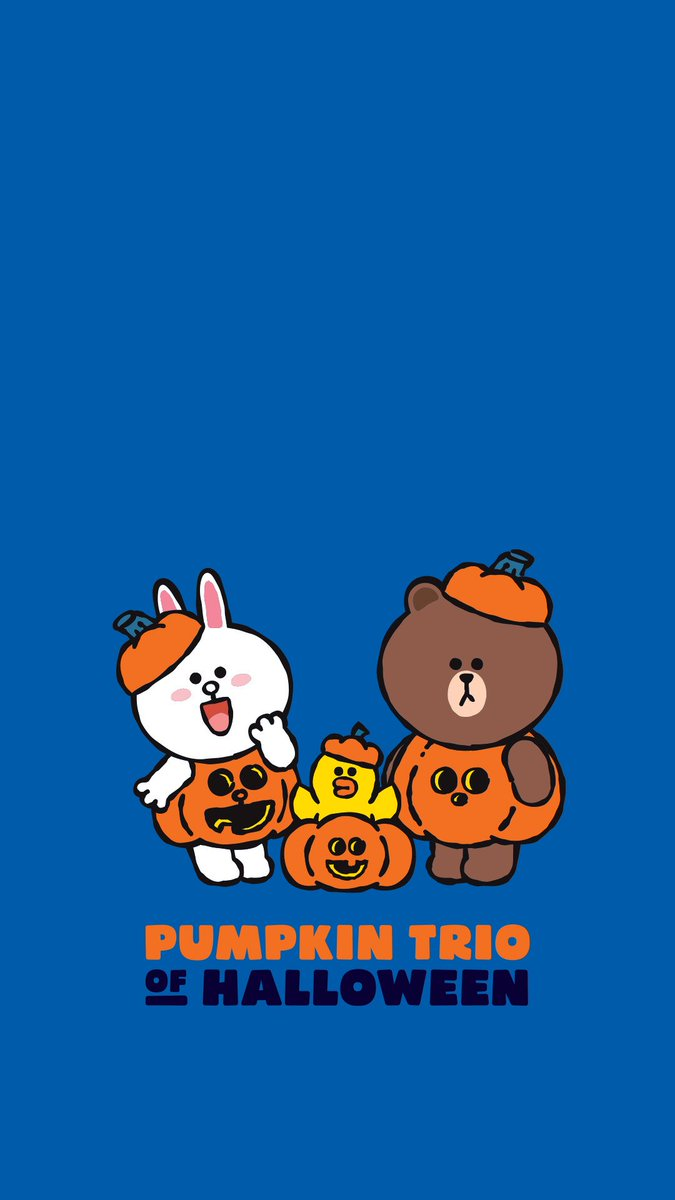 Line Friends Japan V Twitter ハロウィンをもっと楽しむために準備したよ 今すぐチェック T Co Iib0feo4ny Linefriends Brown Cony Sally Halloween 壁紙 パンプキン トリオ T Co Rpw4uxpjsz