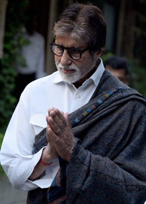 Many many happy returns of the Day. Happy Birthday Amitabh Bachchan Sir.