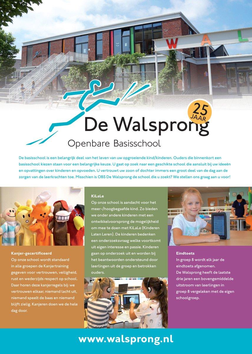test Twitter Media - Misschien is @Walsprong de school die u zoekt? We stellen ons graag aan u voor! Maak een afspraak om de school te komen bekijken of lees onze flyer of website! https://t.co/NQukYjG3CH https://t.co/1tWLMU7C4p
