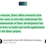 """Image for the Tweet beginning: """"Learning the iExec SDK: Blockchain"""
