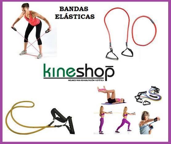 fortalecer piernas con bandas elasticas