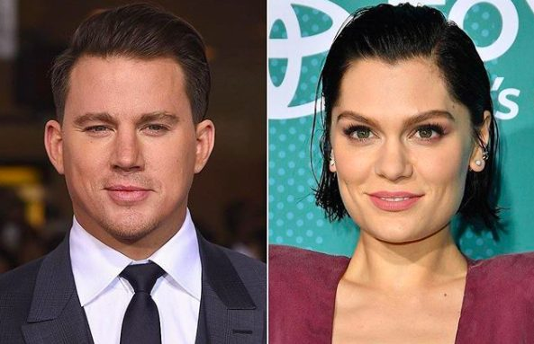Hollywood Holler's photo on Channing Tatum and Jessie J