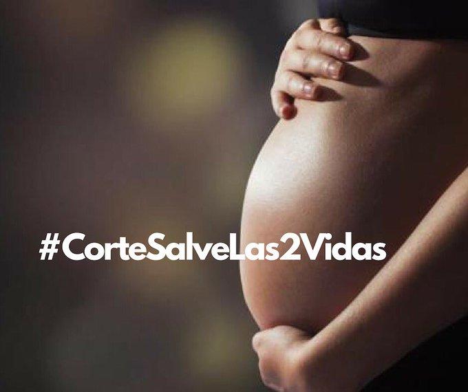 #CorteSalveLas2vidas , ¿Es justo quitar una vida humana para resolver un problema? @Pontifex_es Photo