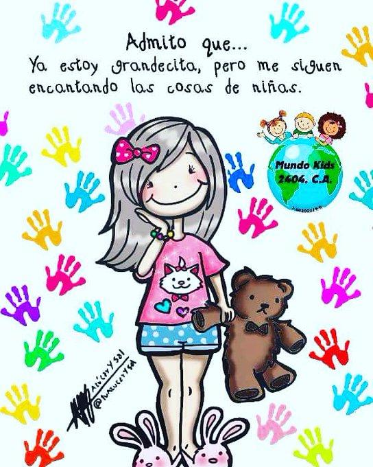 #DíaInternacionalDeLaNiña #MaquinadelTiempoLlevame Nunca perderé la esencia de niña!! 🍬🍭😋✌ Photo