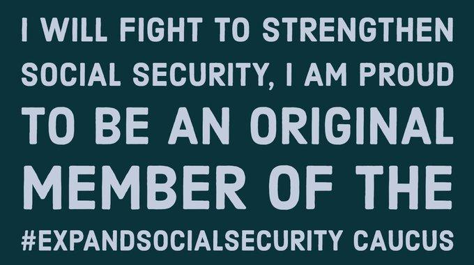 #ExpandSocialSecurity Photo
