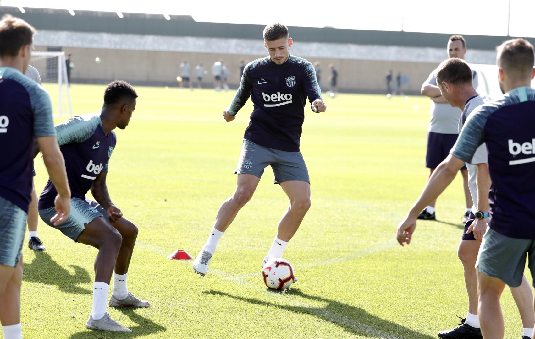 �� The sun came out for Thursday's ��️‍♂️ workout! ���� #ForçaBarça https://t.co/57xKnFNrkK