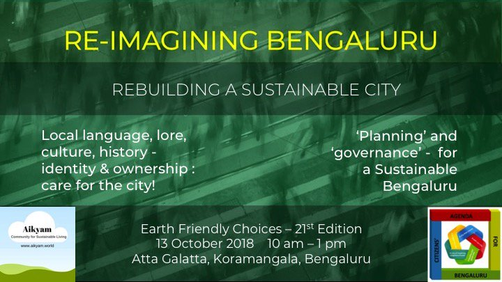 Citizens' Agenda for Bengaluru on Twitter: